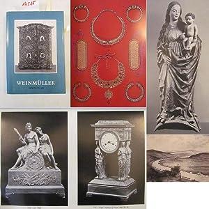 Katalog zur Auktion 162 vom 17.-19. September 1975: Antiquitäten, Silber, Dosen, Schmuck, ...