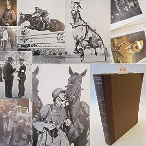 Das Deutsche Reiterbuch. Pferdezucht und Pferdesport in Großdeutschland * H A L B L E D E R -...
