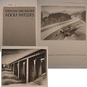 Straßen und Bauten Adolf Hitlers. Mit Geleitwort: Fritz, Georg: