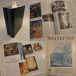 Weltkunst, aktuelle Zeitschrift für Kunst und Antiquitäten Nr.13 - 24 Juni bis Dezember, ...