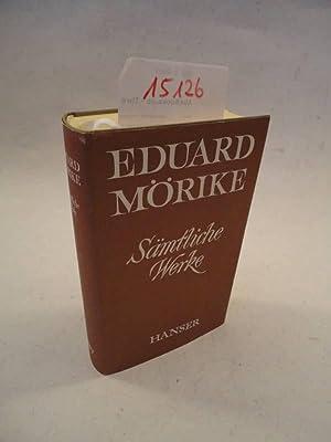 Sämtliche Werke. Aufgrund der Originaldrucke herausgegeben von Herbert G. Göpfert mit ...
