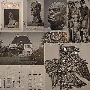 Die Kunst. Monatshefte für Malerei, Plastik und Wohnkultur. 43.Jahrgang Nr.7, April 1942: ...