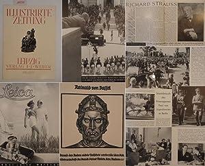 Illustrirte Zeitung Leipzig Nr.4917 vom 8.Juni 1939: Weber, J. J. (Herausgeber):