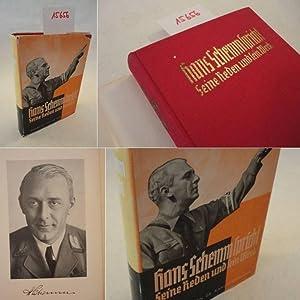 Hans Schemm spricht. Seine Reden und sein Werk bearbeitet von Dr.G. Kahl-Furthmann * mit O r i g i ...