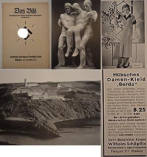 Das Bild. Monatsschrift für das Deutsche Kunstschaffen in Vergangenheit und Gegenwart. Heft 7:...