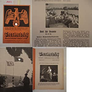 Frankenbrief, 1. Jahrgang 1936 Folge 3: Gauschulungsamt Franken der NSDAP (Herausgeber):