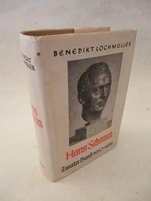 Hans Schemm. Zweiter Band 1920-1935 * mit O r i g i n a l - S c h u t z u m s c h l a g: Lochmüller...
