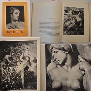 Göttinnen im Spiegel der Kunst * mit O r i g i n a l - S c h u t z u m s c h l a g: Peterich, ...
