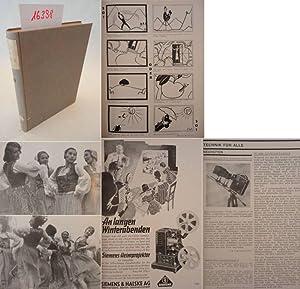 Film für Alle. Monatsschrift für Amateurkinematographie. Jahrgang VIII: Hefte 1-12 Januar...