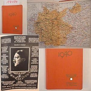 Deutscher Beamten-Kalender 1940, bearbeitet von Hauptschriftleiter Dr.Karl Vogt. Fachschaften ...