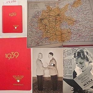 Deutscher Beamten-Kalender 1939 bearbeitet von Hauptschriftleiter Dr.Karl Vogt. Fachschaft ...