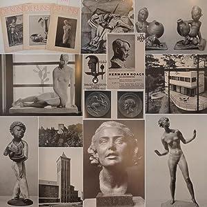 Die Kunst. Monatshefte für Malerei, Plastik und Wohnkultur. 3 Einzelhefte: Nr.5 und 6 (Februar...
