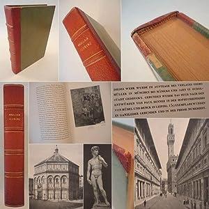 Florenz, mit 84 Bildbeigaben * H A L B L E D E R - H a n d e i n b a n d: Mauclair, Camille: