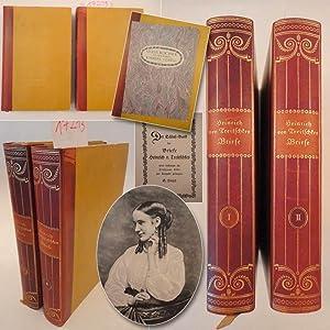 Heinrich von Treitschkes Briefe, 1. und 2.Band (von 3) * H A L B L E D E R - V o r z u g s a u s g ...