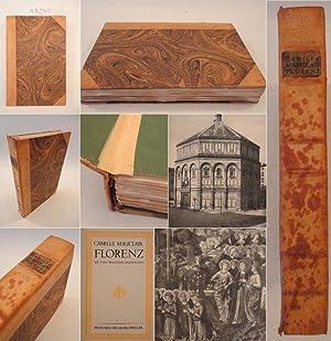 Florenz, mit 84 Bildbeigaben * H A L B L E D E R - Handeinband: Mauclair, Camille, Hermann: