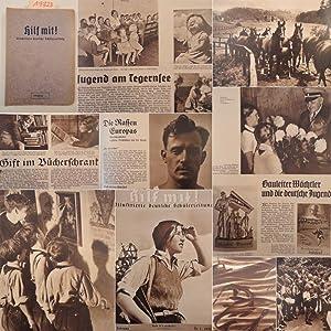 Hilf mit! Illustrierte deutsche Schülerzeitung, 4.Jahrgang: Oktober 1936 - September 1937: NS....