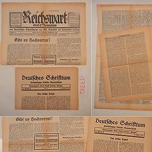 Deutsches Schrifttum. Unabhängige kritische Monatsschrift, Herausgeber: Prof. Adolf Bartels, ...