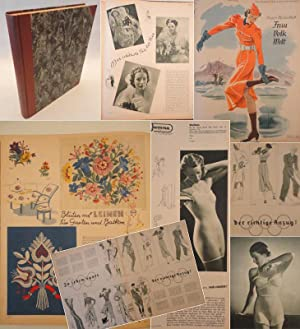 Beyer s Modenblatt Frau Volk Welt Heft 1 - 26 / 15.Jahrgang 1936/37: Falkenthal, Elise (...