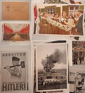 Deutschland erwacht. Werden, Kampf und Sieg der NSDAP, Bilder-Gruppe 30: Packung mit 50 ...