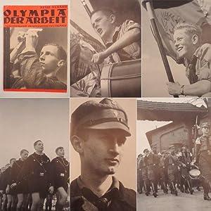 Olympia der Arbeit. Arbeiterjugend im Reichsberufswettkampf: Axmann, Artur: