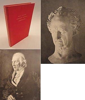Goethes letztes Lebensjahr, mit neuen Bildtafeln und eine Wiedergabe der letzten Unterschrift ...