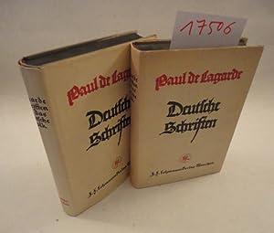 Schriften für das deutsche Volk 1.Band: Deutsche Schriften, herausgegeben von Paul Fischer: ...