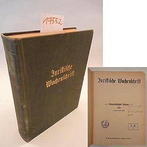 Juristische Wochenschrift, 67.Jahrgang 1939, Band II