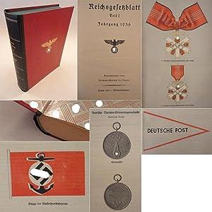 Reichsgesetzblatt Teil 1 Jahrgang 1936, 1.Halbjahr: Reichsministerium des Inneren (Herausgeber):