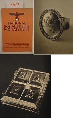 Nationalsozialistische Monatshefte. Zentrale politische und kulturelle Zeitschrift: Rosenberg, Alfred (Herausgeber):