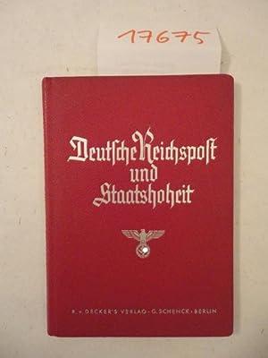 Deutsche Reichspost und Staatshoheit: Ohnesorge, Wilhelm: