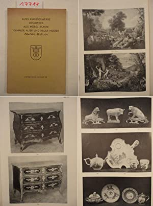 Auktion XXIX / Katalog 32: Altes Kunstgewerbe, Ostasiatica, alte Möbel / Plastik, ...