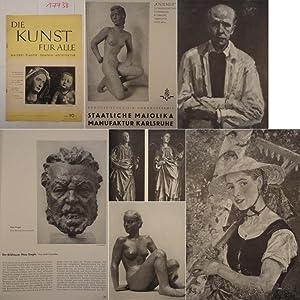 Die Kunst für Alle. Malerei, Plastik, Graphik, Architektur * 56.Jahrgang, März 1941: ...