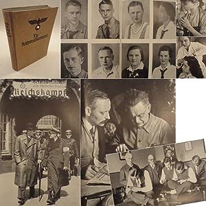 Der Reichsberufswettkampf: Obergebietsführer Artur Axmann, Leiter des Berufswettkampfes aller ...