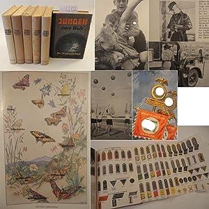 Jungen - eure Welt! Das Jungenjahrbuch 1.-6.Jahrgang 1938 - 1943 (mehr nicht erschienen): Lapper, ...