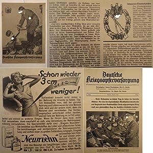 Deutsche Kriegsopferversorgung. National-Sozialistische Monatsschrift, Organ der ...