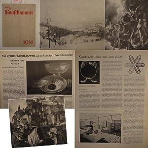 Die Kunstkammer / Illustrierte Monatszeitschrift mit amtlichen Mitteilungen * 1.Jahrgang 1935,...