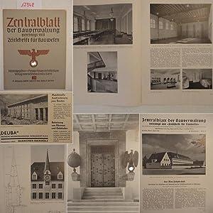 Zentralblatt der Bauverwaltung, vereinigt mit Zeitschrift für Bauwesen, herausgegeben im Preu&...