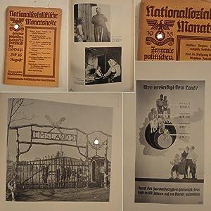 Nationalsozialistische Monatshefte. Zentrale politische und kulturelle Zeitschrift der NSDAP /...