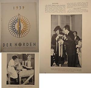 Der Norden. Monatsschrift der Nordischen Gesellschaft. Nr.1 Januar 1939, 16.Jahrgang: Nordische ...