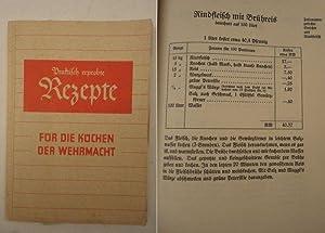 Praktisch erprobte Rezepte für die Küchen der Wehrmacht: Maggi-Gesellschaft mbH: