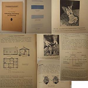 Entkeimung, Entseuchung und Entwesung. Mit 29 Abbildungen und einer farbigen Tafel: Dr.med. Walter ...