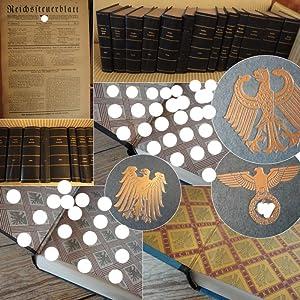 Reichssteuerblatt Jahrgang 1930 - 1940 * 13 Bände / kaum benutzte O r i g i n a l e i n b...