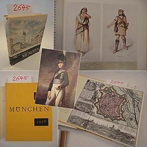 Lebendiges München. 1158-1958 Im Auftrag der Bayerischen Landeshauptstadt herausgegeben von ...