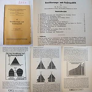 Bevölkerungs- und Rassenpolitik: Gütt, Dr. Arthur: