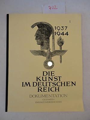 Die Kunst im Deutschen Reich - Dokumentation über die Kunstzeitschrift, mit ...