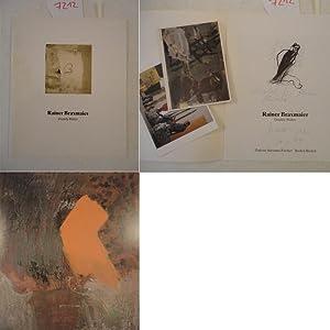 Rainer Braxmaier: Dunkle Bilder * WIDMUNGSEXEMPLAR: Galerie Suzanne Fischer: