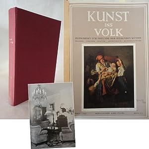 Kunst ins Volk - Zeitschrift für Freunde der bildenden Künste - Malerei / Graphik &#...