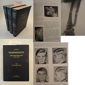 Wehrmedizin, Kriegserfahrungen 1939 - 1943, Bände I - III Kriegschirurgie, Interne Medizin und...