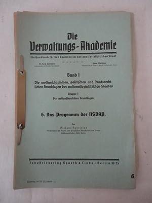 Das Programm der NSDAP: Fabricius, Dr.Hans: