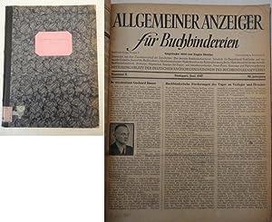 Allgemeiner Anzeiger für Buchbindereien / Mitteilungsblatt der deutschen ...
